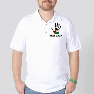 Free Gaza Golf Shirt